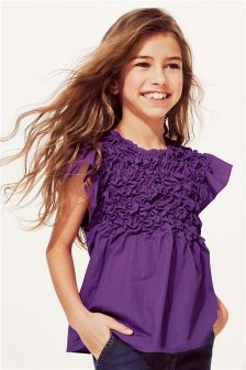 Ruched Top (3-16yrs)