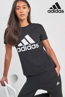 Спортивная футболка с нашивкой adidas