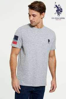 U.S. Polo Assn. Banded Sleeve T-Shirt