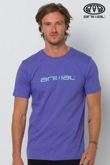 Animal Purple Classico Graphic T-Shirt