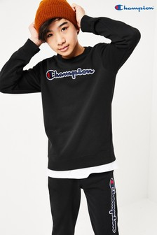 Champion Kids Large Script Logo Sweater