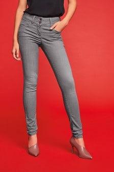 Lift, Slim And Shape Jeans mit engem Schnitt