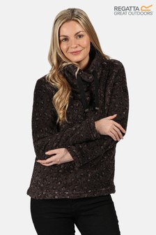 Regatta Black Hannelore Fluffy Fleece Jacket