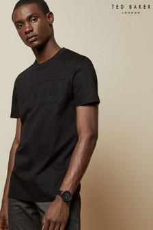 Ted Baker Black Branded T-Shirt