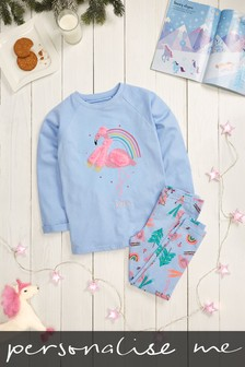 Personalised Flamingo Pyjamas
