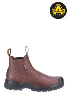 Amblers Safety Brown AS307C Safety Dealer Boots