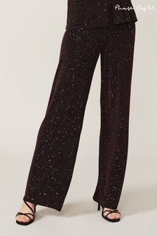 Phase Eight Black Shimmer Trousers