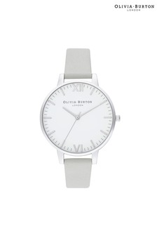 Olivia Burton Timeless Silver & Grey Watch