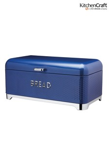 Kitchencraft Lovello Blue Bread Bin