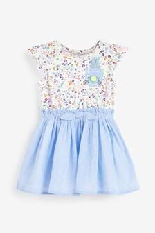 Bunny Appliqué Dress (3mths-7yrs)