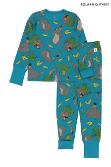 Polarn O. Pyret Blue GOTS Organic Jungle Book Pyjamas