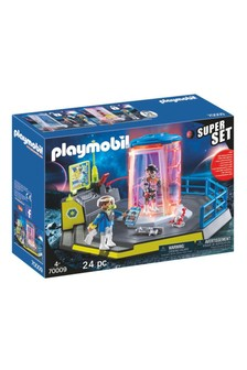 Playmobil® 70009 Super Set Galaxy Police Rangers Prison Cell With LED Lights