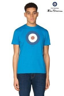 Ben Sherman Main Line Blue Target T-Shirt