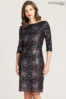 HotSquash Knee Length Sequin Dress