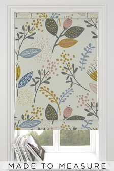 Mari Floral Print Made To Measure Roman Blind