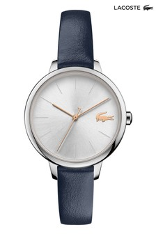 Lacoste Blue Leather Cannes Watch