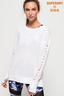 Superdry Active Studio Luxe Long Sleeve Top