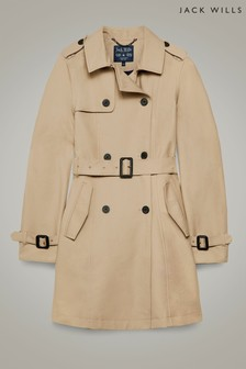 Jack Wills Stone Mitford Classic Trench Coat