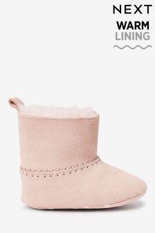 tan baby girl shoes