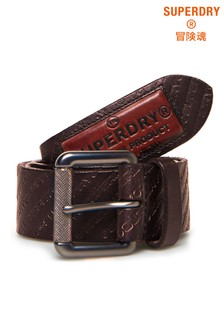 Superdry Badgeman All Over Print Belt