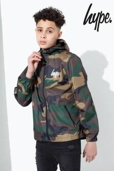 Hype. Camo Core Kids Runner Jacket