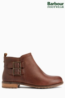 Barbour® Wine Sarah Low Buckle Boot
