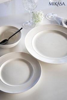 12 Piece Mikasa Anti Chip Mikasa M Porcelain Dinner Set