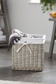 Wicker Storage Cube