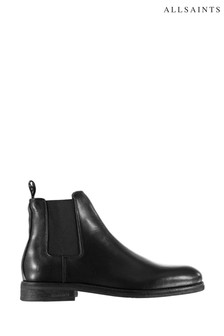 AllSaints Harley Chelsea Satin Leather Boots