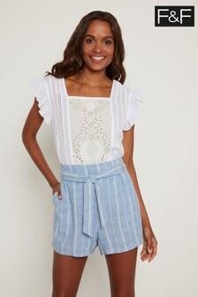 F&F Blue Shorts