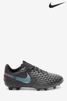 Nike Black Tiempo Academy FG Junior & Youth Football Boots