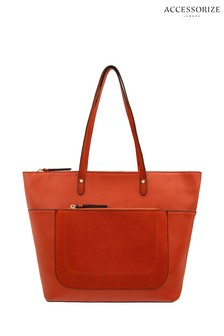 Accessorize Brown Emily Tote Bag