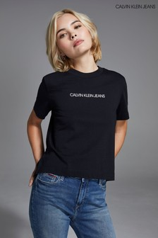 Calvin Klein Jeans Shrunken Institutional Logo T-Shirt