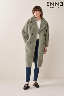 Emme Marella Green Jhonny Winter Coat