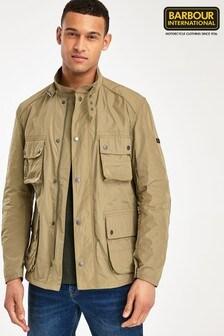 Barbour® International Brown Weir Casual Jacket