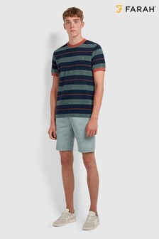 Farah Blue Biggs T-Shirt