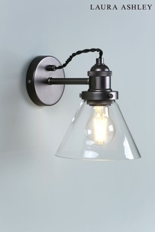 Laura Ashley Isaac Industrial Wall Light