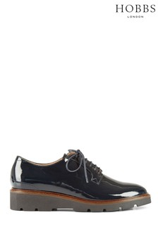 Hobbs Blue Bloomsbury Derby Shoes