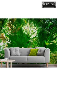 Exclusive To Next Paradise Leaves Wall Mural by Eighty Two