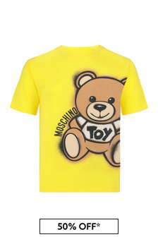 Moschino Kids Boys Cotton T-Shirt