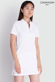 Calvin Klein Golf White Eden Dress