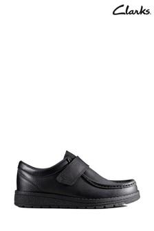 Clarks Black Mendip Pure K Shoes