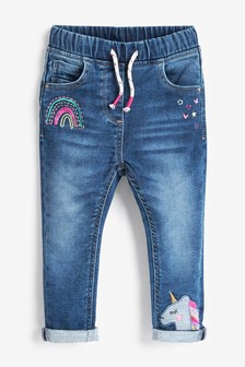 Unicorn Pull-On Jeans (3mths-7yrs)