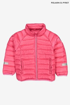 Polarn O. Pyret Pink Recycled Padded Jacket