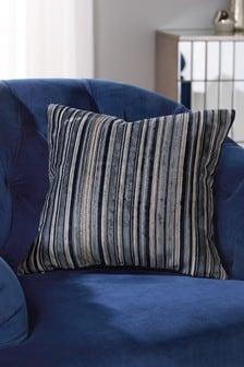 Stripe Velvet Cushion