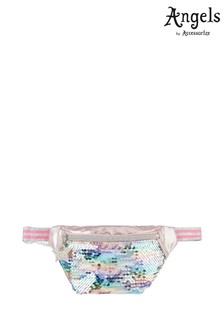 Angels By Accessorize Metallic Glitter Sequin Belt Bag