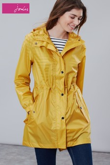 Joules Golightly Solid Waterproof Packaway Coat