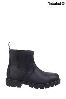 Timberland® Pro Black Sawhorse Dealer Slip-On Safety Boots