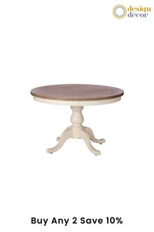 Cotswolds 1.2m Round Dining Table by Design Decor