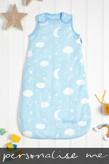 Personalised 2.5 Tog Blue Sleep Bag